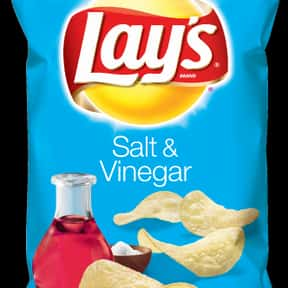 Lay's Salt & Vinegar Potat is listed (or ranked) 2 on the list The Best Lay's Chip Flavors