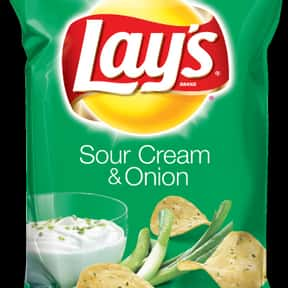 Lay's Sour Cream & Onion P is listed (or ranked) 4 on the list The Best Lay's Chip Flavors