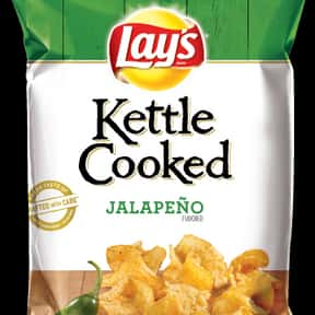 Lay's Kettle Cooked Jalape is listed (or ranked) 9 on the list The Best Lay's Chip Flavors