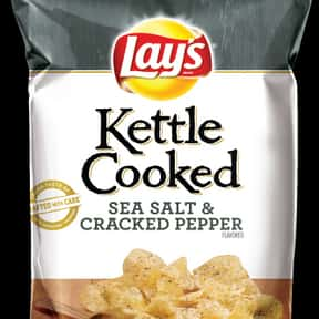 Lay's Kettle Cooked Sea Sa is listed (or ranked) 18 on the list The Best Lay's Chip Flavors