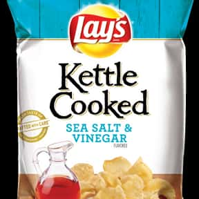 Lay's Kettle Cooked Sea Sa is listed (or ranked) 12 on the list The Best Lay's Chip Flavors