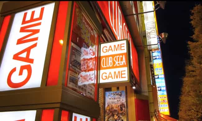 Club Sega, Tokyo is listed (or ranked) 4 on the list The 13 Coolest Japanese Arcades You Have to See to Believe