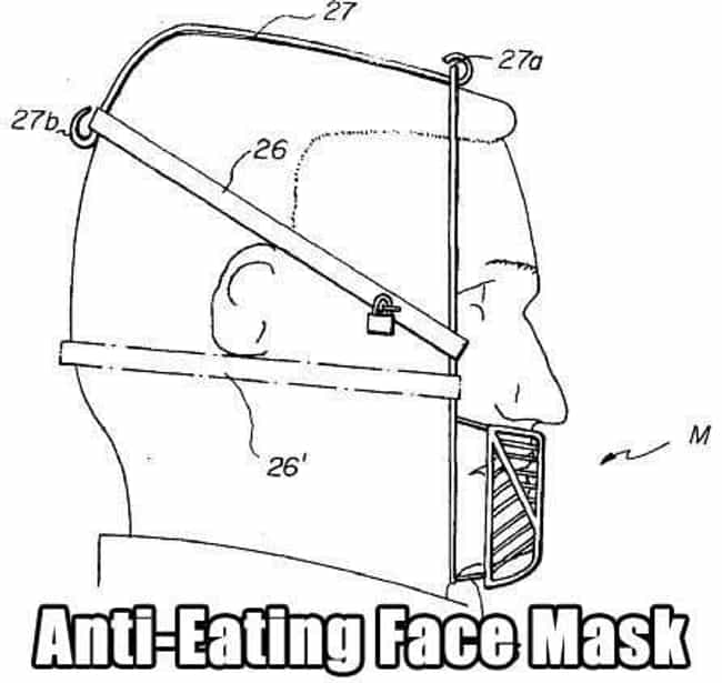 Masking Your Hunger is listed (or ranked) 1 on the list The 19 Weirdest Patents Ever Filed