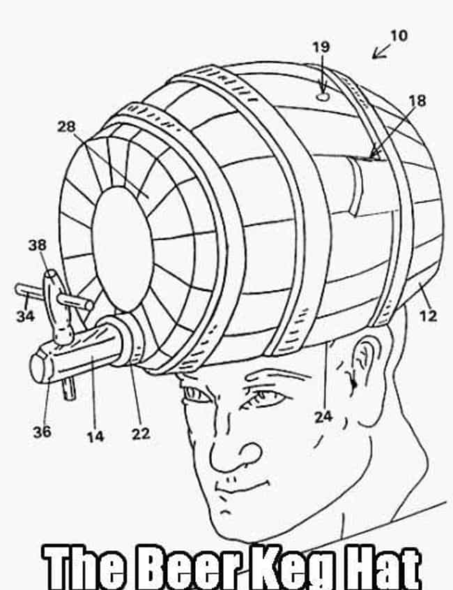Hat Trick is listed (or ranked) 3 on the list The 19 Weirdest Patents Ever Filed