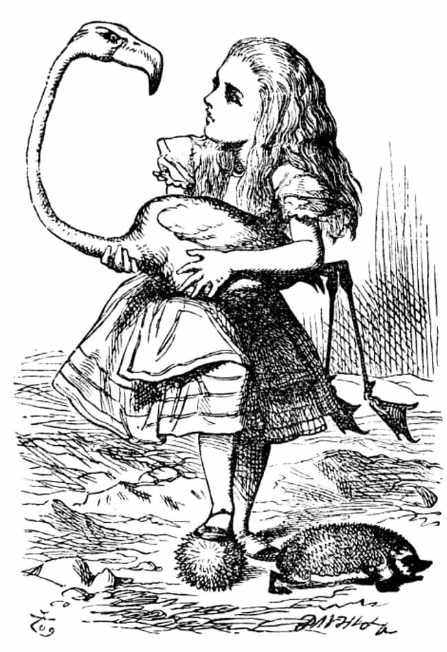 You Won't Be Able to Keep ... is listed (or ranked) 3 on the list Things That Happen to You When You Have Alice in Wonderland Syndrome