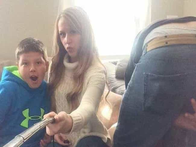 Like Mother, Like Son is listed (or ranked) 8 on the list Selfie Stick Photos That Will Ruin Your Whole Day
