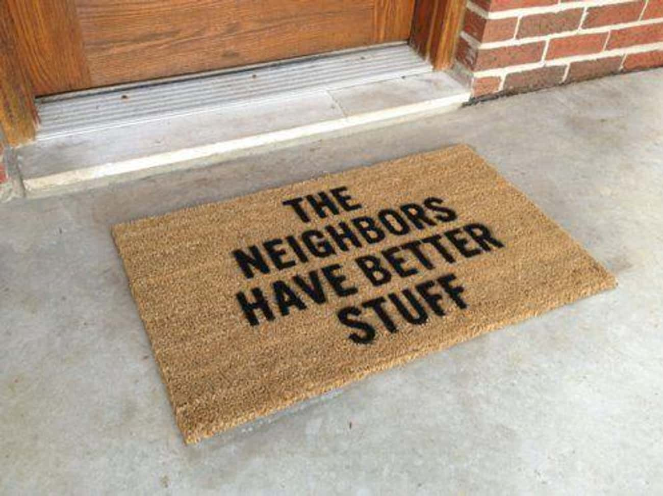 Dear Burglars... is listed (or ranked) 1 on the list 30 Funny Doormats Your Houseguests Will Definitely Laugh At