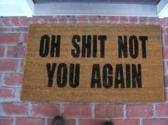 Subtlety: Nailin' It. is listed (or ranked) 2 on the list 30 Funny Doormats Your Houseguests Will Definitely Laugh At