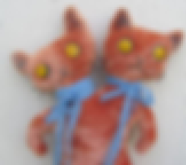 2 Cats 1 Nightmare is listed (or ranked) 1 on the list Stuffed Animals That Will Give You Nightmares