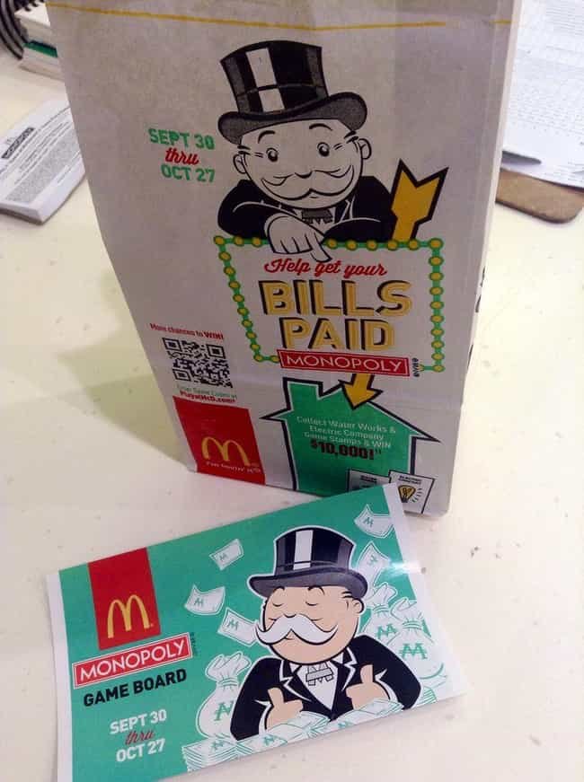It Is a Target for Scamm... is listed (or ranked) 6 on the list 9 Reasons You'll Never Win McDonald's Monopoly