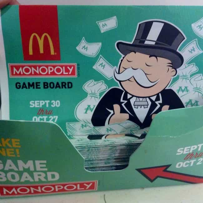 There Are So Many Game P... is listed (or ranked) 3 on the list 9 Reasons You'll Never Win McDonald's Monopoly