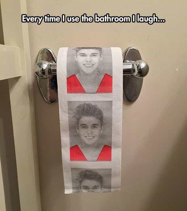 Does It Come in Kanye? ... is listed (or ranked) 2 on the list Hilarious Toilet Paper You'd Wipe Your Own Arse With