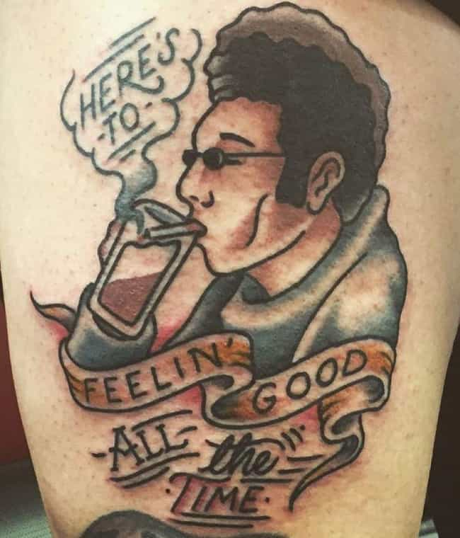 Cheers to you, Cosmo is listed (or ranked) 1 on the list What's the Deal with These Seinfeld Fan Tattoos?