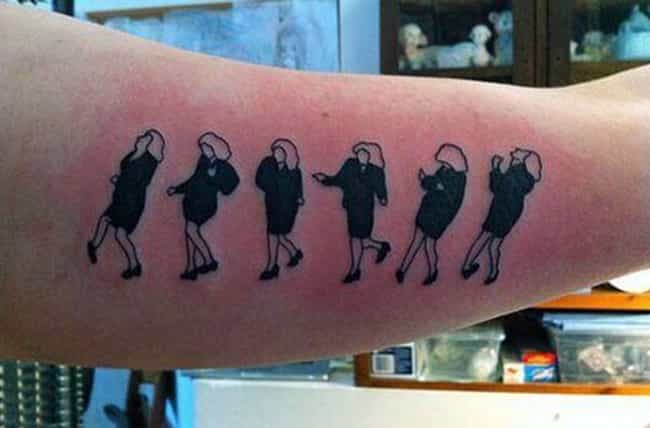 Elaine Would Get a Kick out of... is listed (or ranked) 3 on the list What's the Deal with These Seinfeld Fan Tattoos?