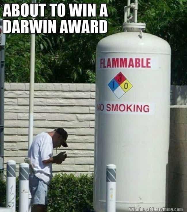 Future Darwin Award Winners Caught On Camera 🍀viraluck