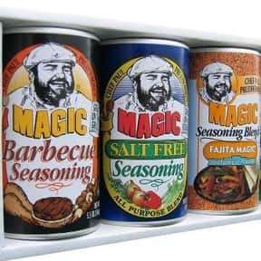 Chef Paul Prudhomme's Magi is listed (or ranked) 16 on the list The Best Spice Brands
