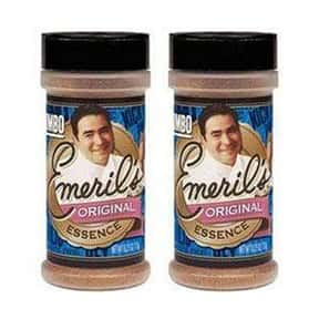 Emeril's is listed (or ranked) 18 on the list The Best Spice Brands