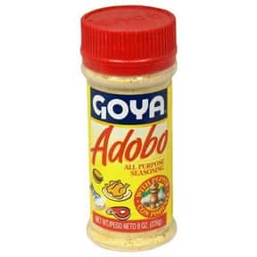 Goya is listed (or ranked) 11 on the list The Best Spice Brands