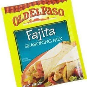 Old El Paso is listed (or ranked) 21 on the list The Best Spice Brands