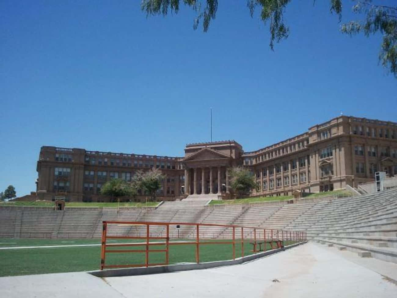 El Paso High School - El Paso is listed (or ranked) 3 on the list The Weirdest And Most Haunted Places In Texas