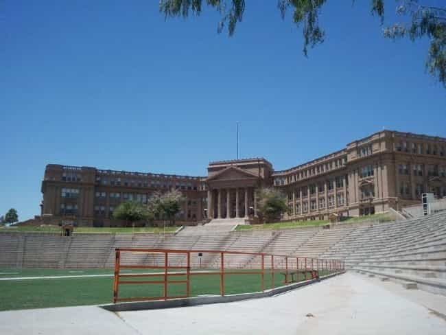 El Paso High School - El... is listed (or ranked) 1 on the list The Weirdest And Most Haunted Places In Texas