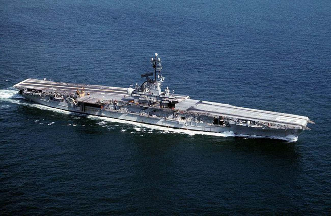 USS Lexington - Corpus Christi is listed (or ranked) 4 on the list The Weirdest And Most Haunted Places In Texas