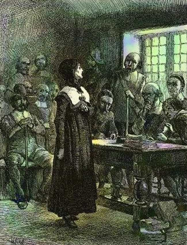 Anne Hutchinson Was a Re... is listed (or ranked) 3 on the list Strange Stories You Might Not Know About Colonial Americans