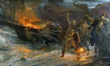 The Viking Chief Cremation Ceremony Involved Sex And Sacrifice