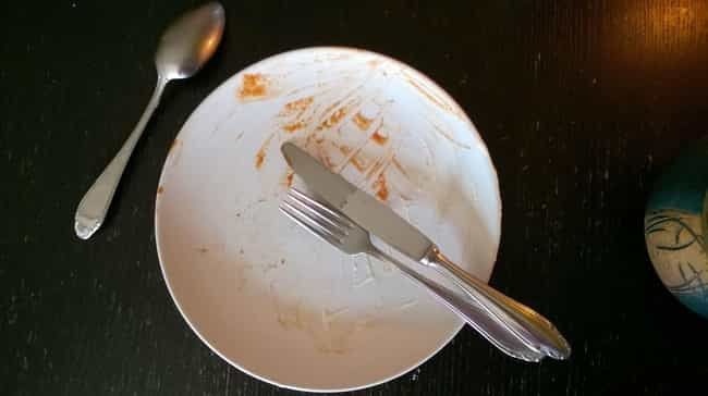 There Are Dirty Plates Everywh... is listed (or ranked) 4 on the list The Grossest Things About Eating at a Buffet