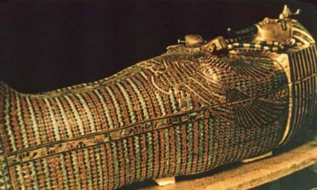 King Tut Coffin is listed (or ranked) 4 on the list The Funniest Coffins of All Time