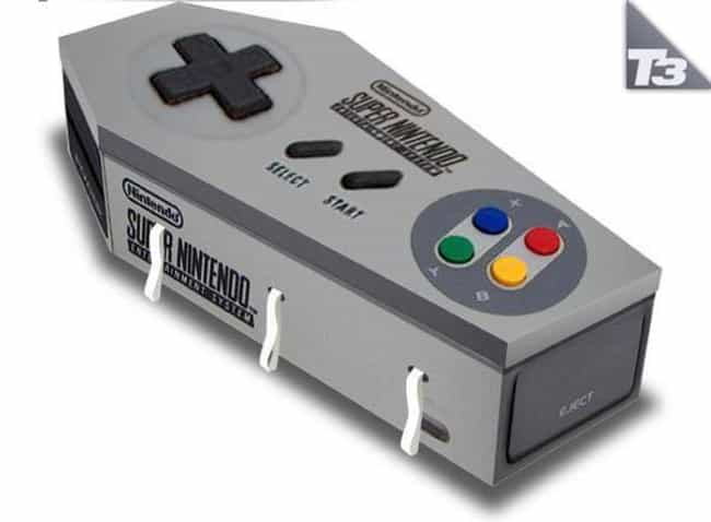 Super Nintendo Coffin is listed (or ranked) 3 on the list The Funniest Coffins of All Time