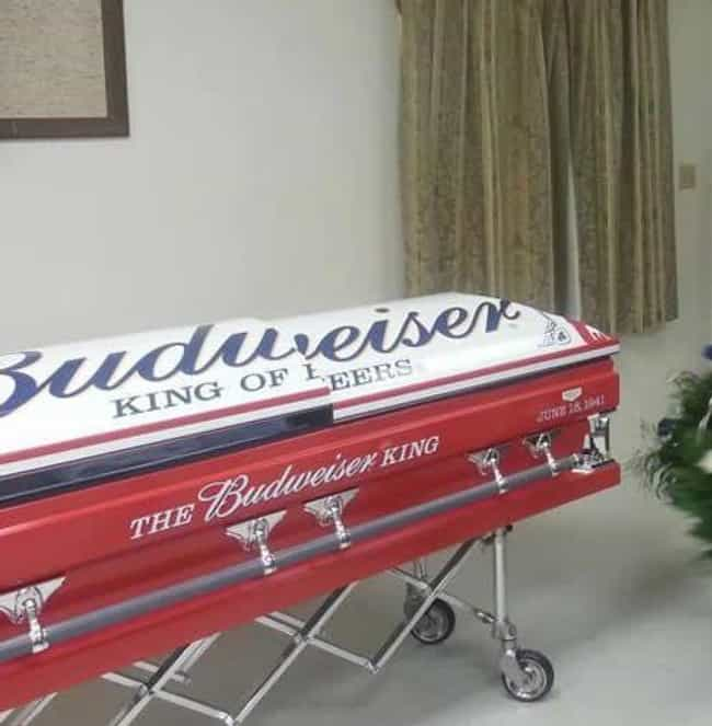 The King of Coffins is listed (or ranked) 1 on the list The Funniest Coffins of All Time