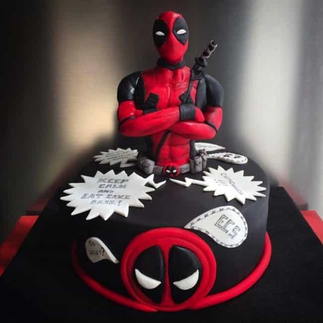 Too Pool for School is listed (or ranked) 1 on the list The Most Amazing Cakes Inspired by Comic Books