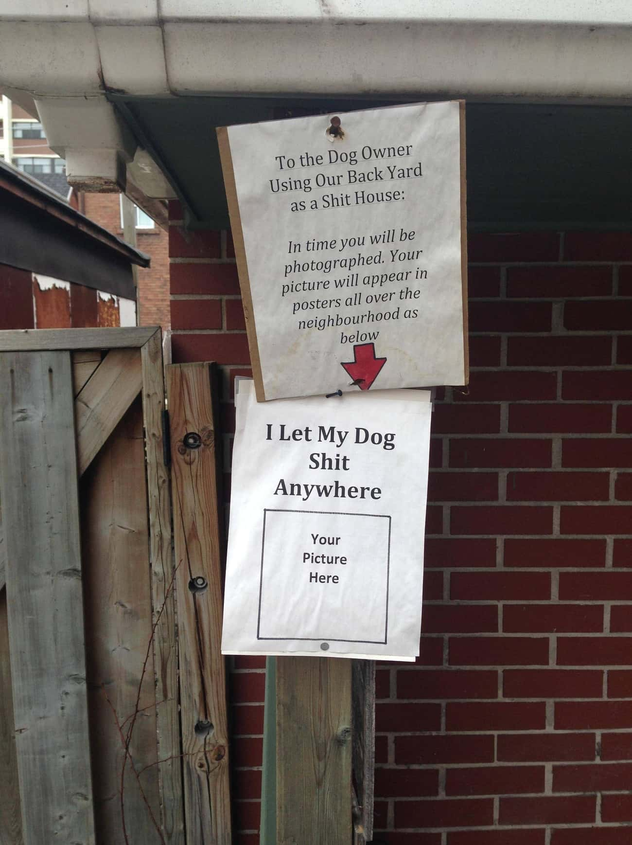 Overnight Fame May Not Be What is listed (or ranked) 3 on the list 27 Hilarious Dog Poop Notes Left by Angry Neighbors