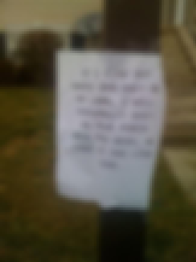 An Eye for an Eye and a... Wel... is listed (or ranked) 3 on the list 27 Hilarious Dog Poop Notes Left by Angry Neighbors