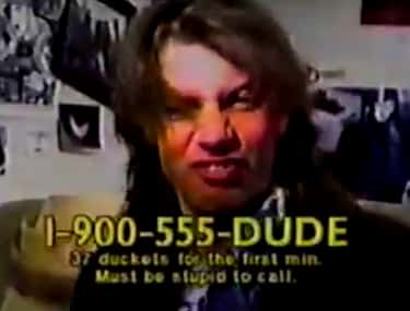 Dial-a-Dude! is listed (or ranked) 1 on the list 1-900 Hotlines You Never Knew You Needed