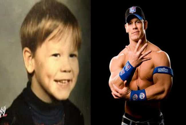 John Cena is listed (or ranked) 2 on the list Hilarious Yearbook Photos of WWE Superstars