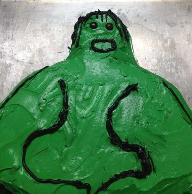 Herk Smersh! is listed (or ranked) 3 on the list Awful Comic Book Cake FAILs That'll Make You Hulk Smash