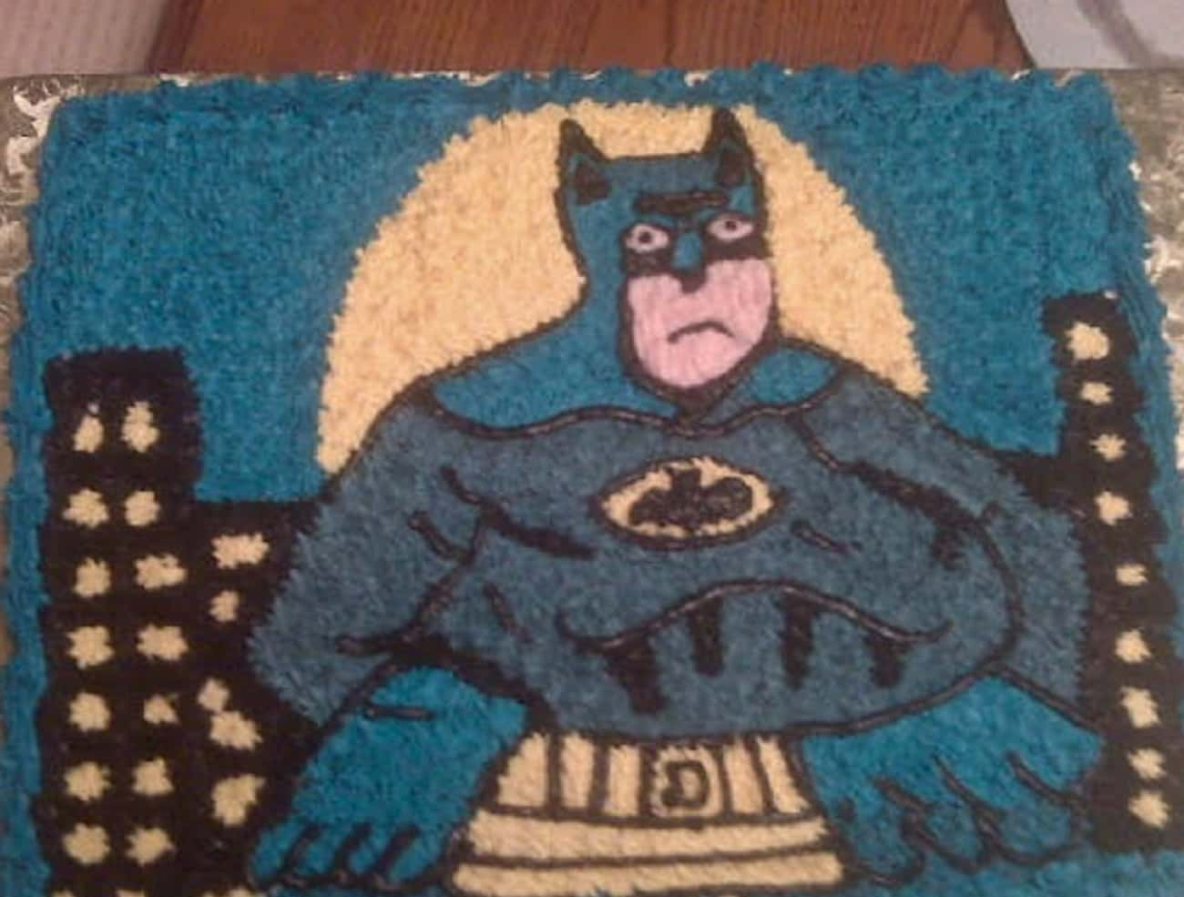 Bertman is listed (or ranked) 1 on the list Awful Comic Book Cake FAILs That'll Make You Hulk Smash