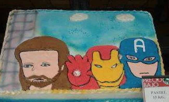 Jesus and The Avengers is listed (or ranked) 1 on the list Awful Comic Book Cake FAILs That'll Make You Hulk Smash