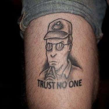The Truth Is Out There is listed (or ranked) 2 on the list 23 Propane-Loving Tattoos Inspired by King of the Hill