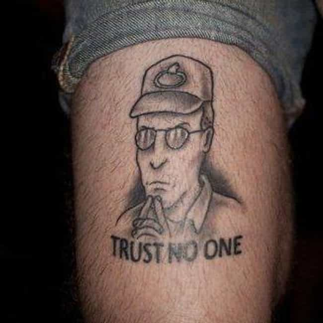 The Truth Is Out There is listed (or ranked) 4 on the list 23 Propane-Loving Tattoos Inspired by King of the Hill