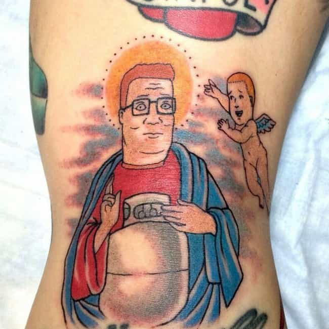 The Holy Hill is listed (or ranked) 3 on the list 23 Propane-Loving Tattoos Inspired by King of the Hill
