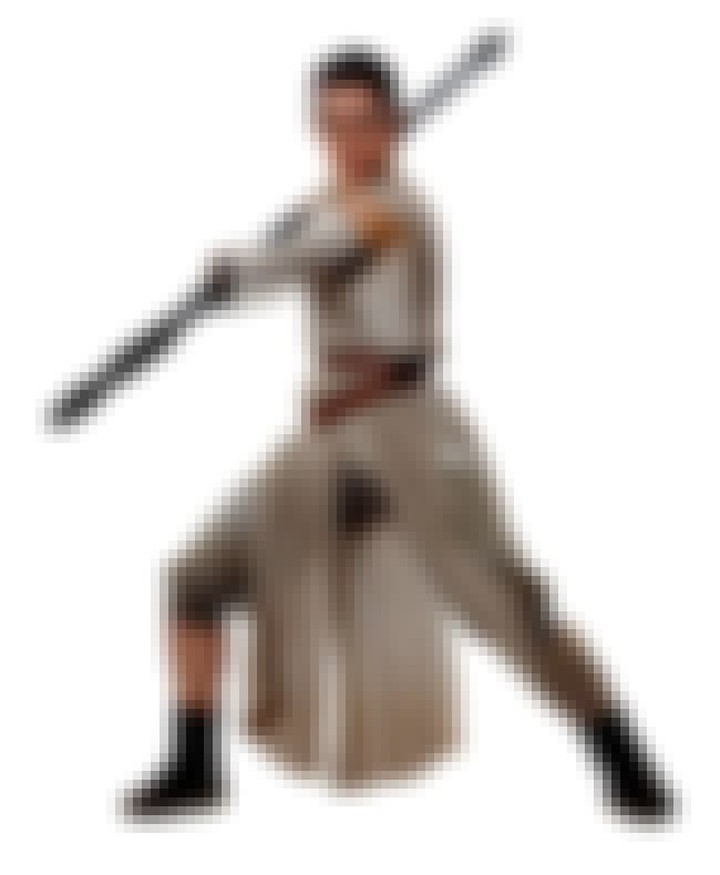 Rey is listed (or ranked) 3 on the list Hottest Star Wars Character Ever