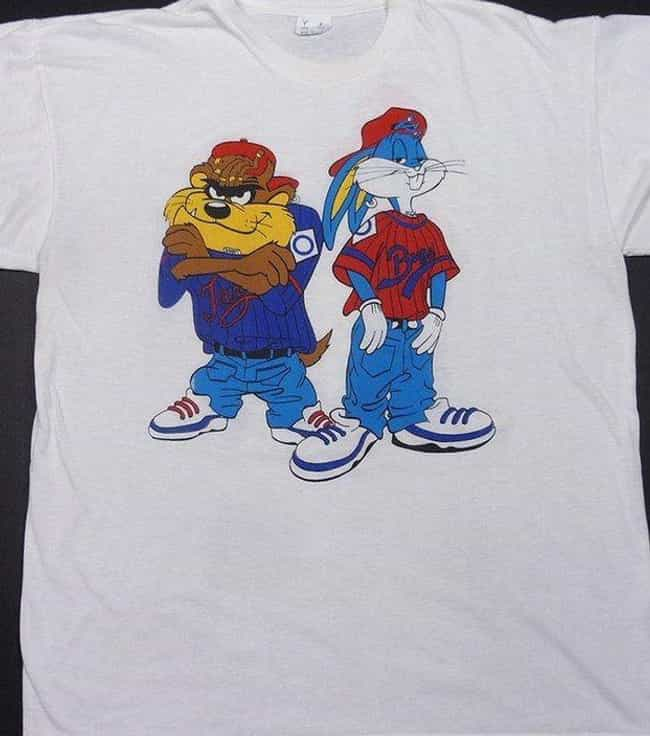 Hip Hop Looney Tunes Shi... is listed (or ranked) 1 on the list The Most '90s T-Shirts Ever Made