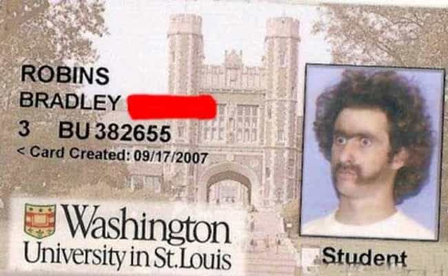 The Father of the Mother of Al... is listed (or ranked) 1 on the list Student ID Card Pictures That Totally Nailed It