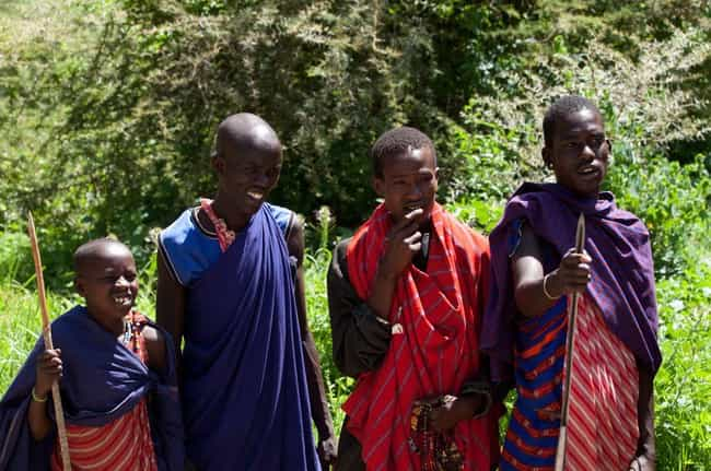 The Maasai People Drink Blood ... is listed (or ranked) 1 on the list Crazy-Fascinating Food Traditions From Religions Around The World