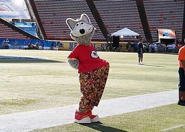 Mascot Boner is listed (or ranked) 1 on the list The Funniest Mascot Photos in Sports History