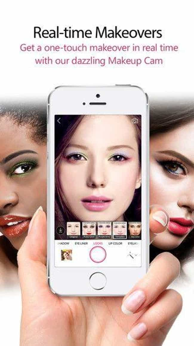 YouCam Makeup App is listed (or ranked) 3 on the list Selfie Accessories You Definitely Need in Your Life