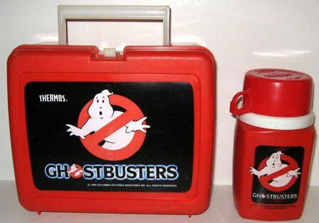 Ghostbusters is listed (or ranked) 4 on the list 25 Awesome Vintage Movie Lunch Boxes That'll Take You Back